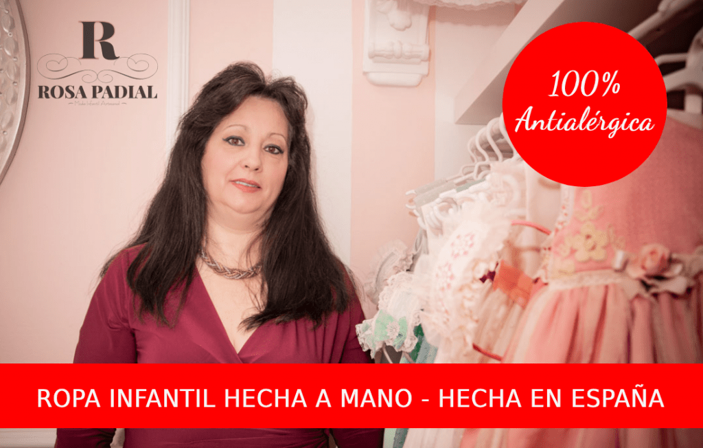 Ropa infantil hecha a mano